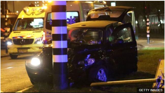 Agüero iba camino al aeropuerto cuando el taxi que lo trasladaba chocó.
