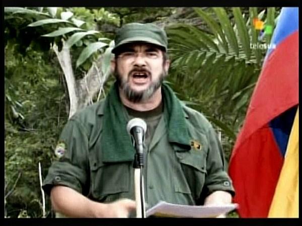 "Timoleón Jiménez, conocido como ""Timochenko"", mácimo líder de las Farc."