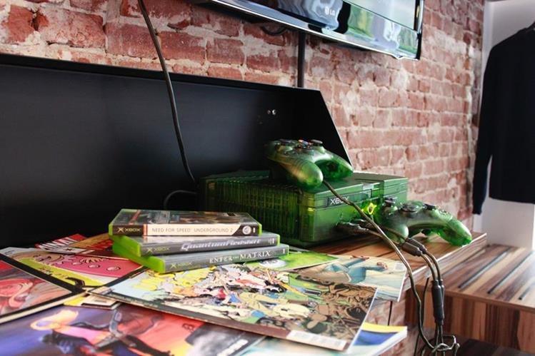 The Arcade Hotel promete ser el lugar ideal para los amantes de los videojuegos que visisten los Países Bajos (Foto Prensa Libre: The Arcade Hotel).