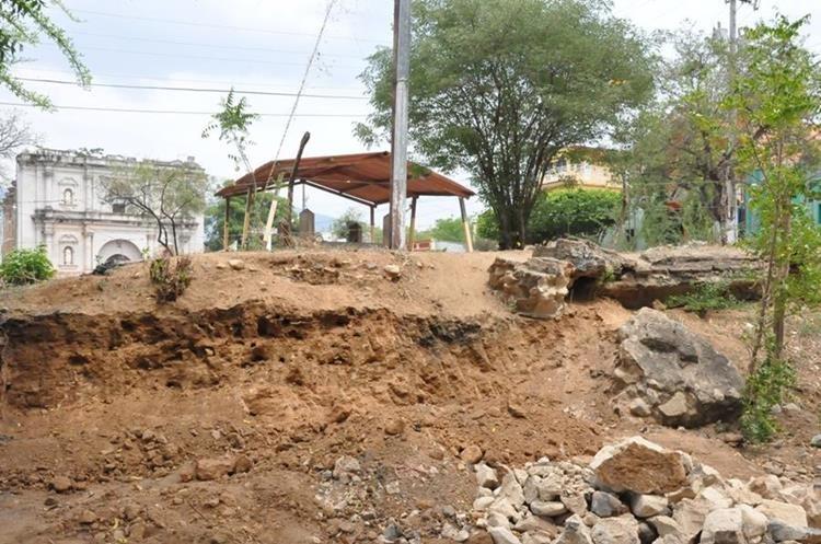 Barrio Iglesia Vieja donde se ubica el terreno que invadido en Chiquimula. (Foto Prensa Libre: Mario Morales).