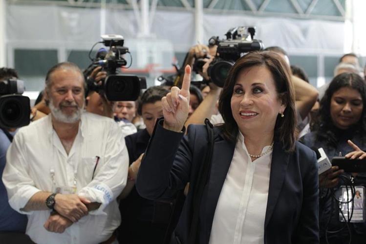 Sandra Torres perdió el balotaje contra Jimmy Morales este domingo. (Foto Prensa Libre: Hemeroteca PL)