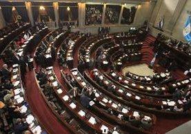 Legisladores consideran que la labor de los cuatro diputados señalados es paralizar la labor legislativa. (Foto Prensa Libre: Hemeroteca PL)
