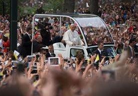 La agenda del Papa en Nueva York causó furor y ovación de decenas de miles de fieles este jueves.