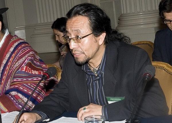 Carlos Chex es candidato a ocupar un puesto como asesor en la ONU. (Foto Prensa Libre: Minex)