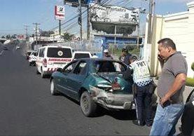El abuso de velocidad es la principal causa de accidentes en Villa Nueva y que han dejado 27 muertos en lo que va del año.(Prensa Libre: Hemeroteca PL)