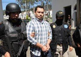 Pedro Benjamin Rivas Zelaya es apodado como Snaiper, Pedro Ochino o Pedro, el pandillero salvadoreño detenido este martes. (Foto Prensa Libre: Estuardo Paredes)
