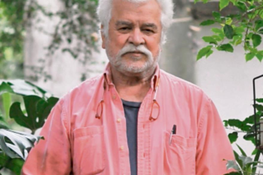Luis Díaz,  artista visual guatemalteco