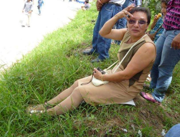 Lesbia Yaneth Urquía, la dirigente ambientalista asesinada en Honduras. (Foto: El Herlando).