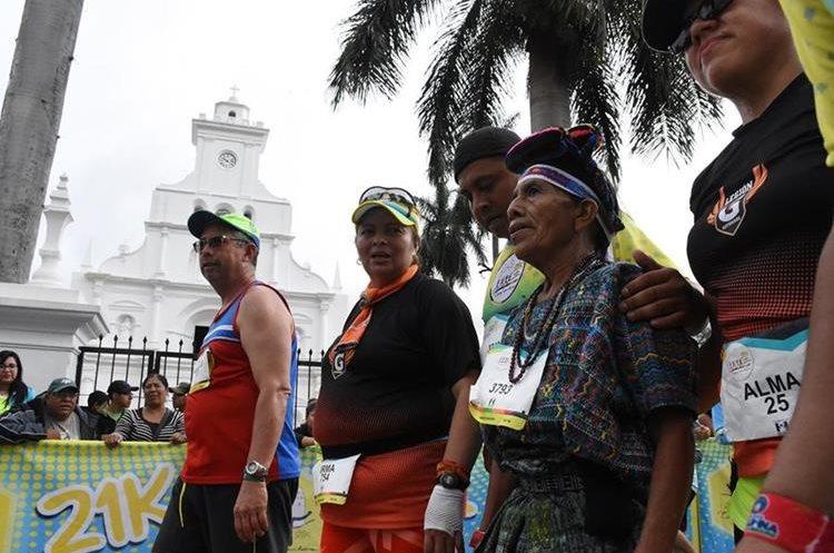 Nicolasa ha demostrado que no hay edad para competir. (Foto Prensa Libre: Mario Morales).