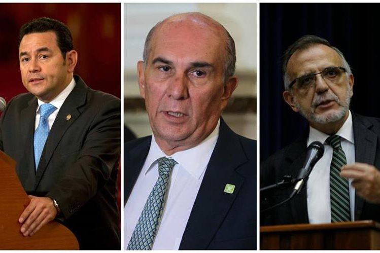 Mario Taracena, presidente del Congreso. (Foto Prensa Libre: Estuardo Paredes)