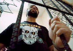 Byron Lima Oliva guardaba prisión desde 2001 por la muerte del obispo Juan Gerardi. (Foto Prensa Libre: Hemeroteca PL)