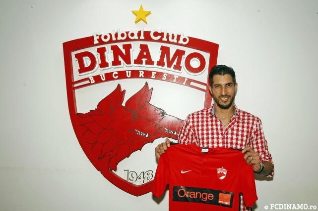 Penedo continuará su carrera deportiva en el Dínamo de Bucarest. (Foto Prensa Libre: FC Dinamo Bucuresti)