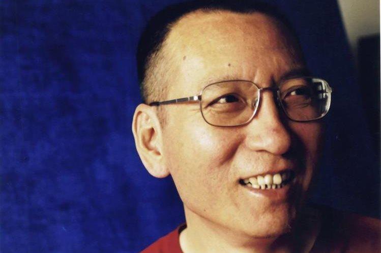 Disidente chino y premio Nobel de la Paz Liu Xiaobo en Pekín (China). (Foto Prensa Libre: EFE)