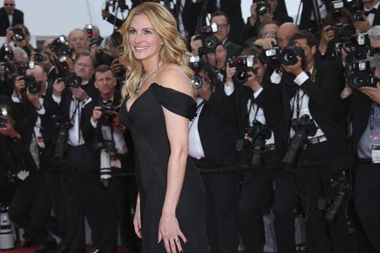 Julia Roberts ostenta el título de la más bella del planeta por quinta ocasión. (Foto Prensa Libre: AP)