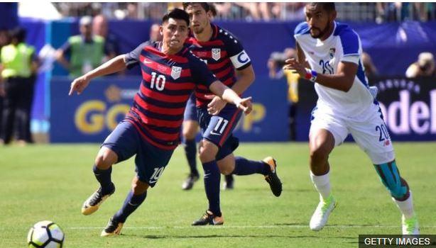 Corona ha jugado con la selección de Estados Unidos.