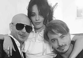 """Pitbull, Camila Cabello y J Balvin se unieron para lanzar el tema """"Hey ma"""", que ya suena en todos lados. (Foto Prensa Libre: Instagram)"""