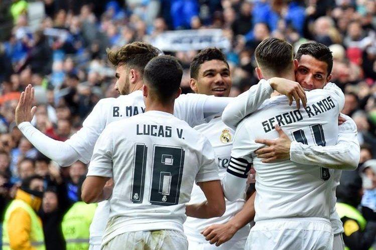 Cristiano Ronaldo fue la gran figura para el Real Madrid esta tarde. (Foto Prensa Libre: AFP)