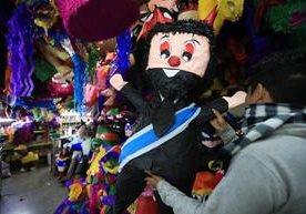 Personajes a los que estas piñatas representan han colmado la paciencia.