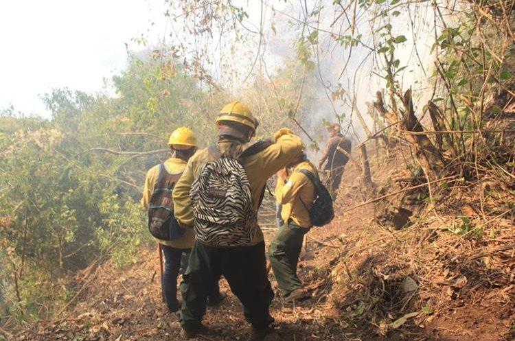 Se cree que el incendio se inició en el cerro Patzitoc entre el municipio de Sololá y Santa Cruz la Laguna.