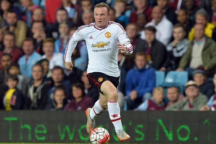 Los ojos de la prensa y aficionados del United están puestos en Wayne Rooney. (Foto Prensa Libre: EFE)