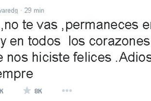 <p>Edgar Vivar, conocido como El señor Barriga, se despide de Chespirito en Twitter</p>