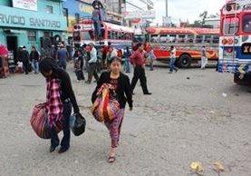 """<p>Los transportistas de Quiché anunciaron un paro de servicio que durará todo el día. (Foto Prensa Libre: Óscar Figueroa)<br _mce_bogus=""""1""""></p>"""
