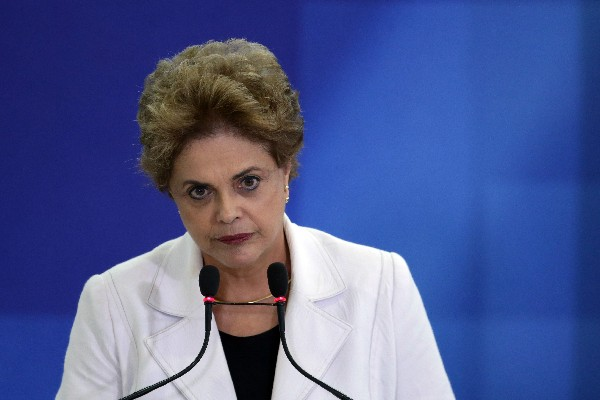 Dilma Rousseff, presidenta de Brasil.