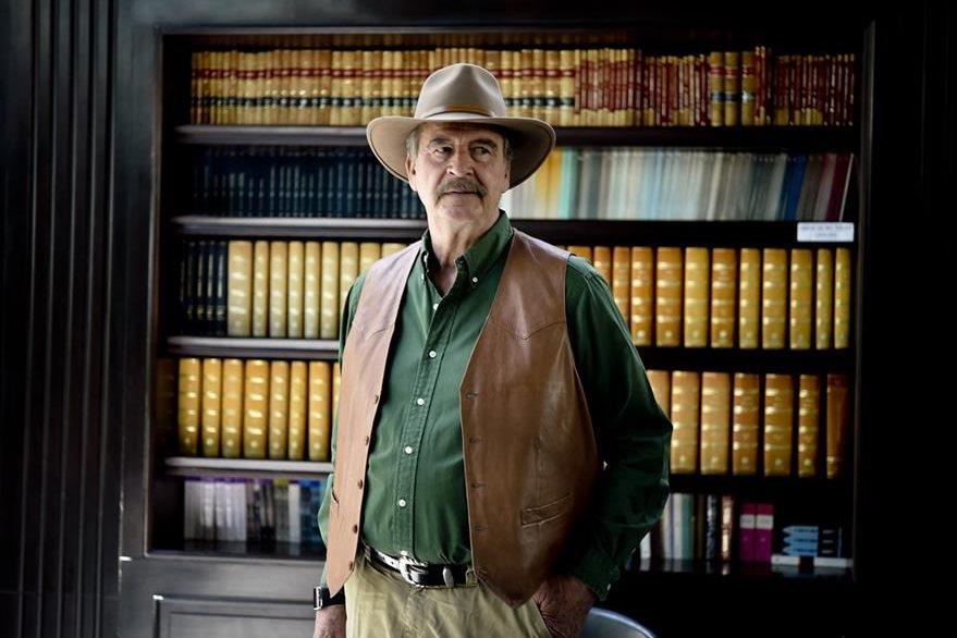 El expresidente mexicano, Vicente Fox, asegura que los partidos políticos han recibido dinero del Chapo Guzmán. (Foto Prensa Libre: AFP).