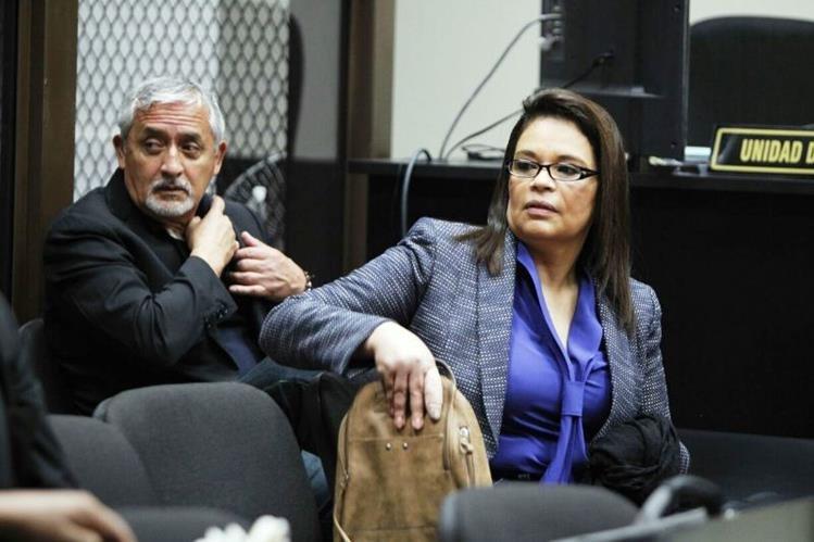 Otto Pérez Molina y Roxana Baldetti podrían enfrentar un juicio por el caso de corrupción La Línea. (Foto Prensa Libre: Carlos Hernández)