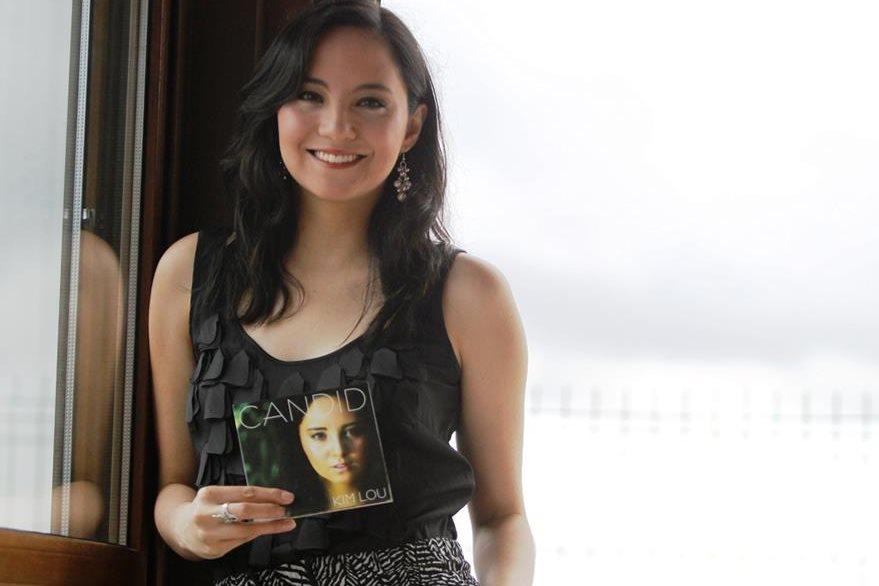 Kim Lou promociona el álbum Candid.(Foto Prensa Libre: Keneth Cruz)