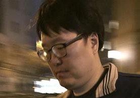 Joo Hyun Bahn, sobrino de Ban Ki-moon abandona el tribunal en Nueva York. (AP).