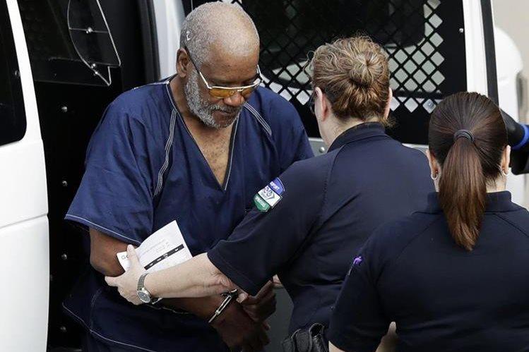James Matthew Bradley junior, durante su llegada a una Corte Federal en San Antonio, Texas, en julio último. (Foto Prensa Libre: Hemeroteca PL)