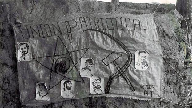 El exterminio del partido de izquierda Unión Patriótica, acusado de vínculos con las Farc, convenció a muchos guerrilleros de la inutilidad de las vías democráticas. (Archivo).
