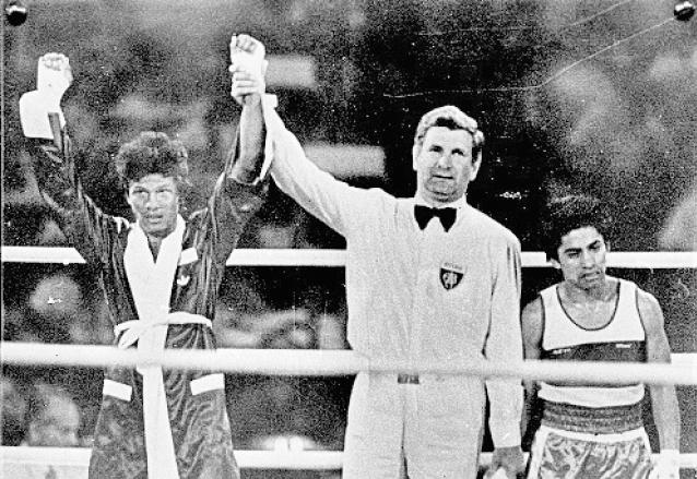 Carlos Motta Taracena llegó a cuartos de final en Los Ángeles 1984. (Foto: Hemeroteca PL)
