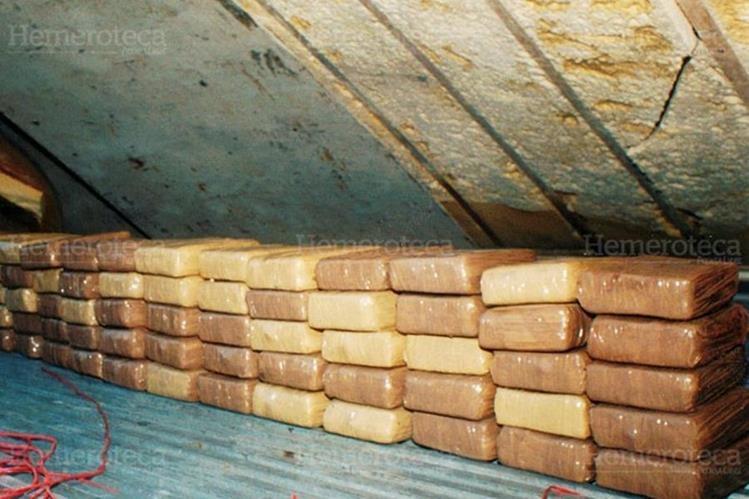 Roban cocaina en almacen del Organismo Judicial. (Foto: Hemeroteca PL)