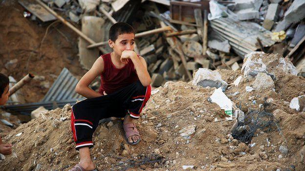 El último gran enfrentamiento armado fue la guerra de Gaza del verano de 2014, en el que murieron más de 2.000 personas, en su mayoría palestinos.  BBC WORLD SERVICE