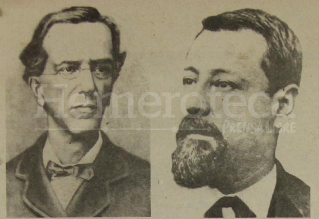 Miguel García Granados y Justo Rufino Barrios, artífices de la Revolución Liberal de 1871. (Foto: Hemeroteca PL)