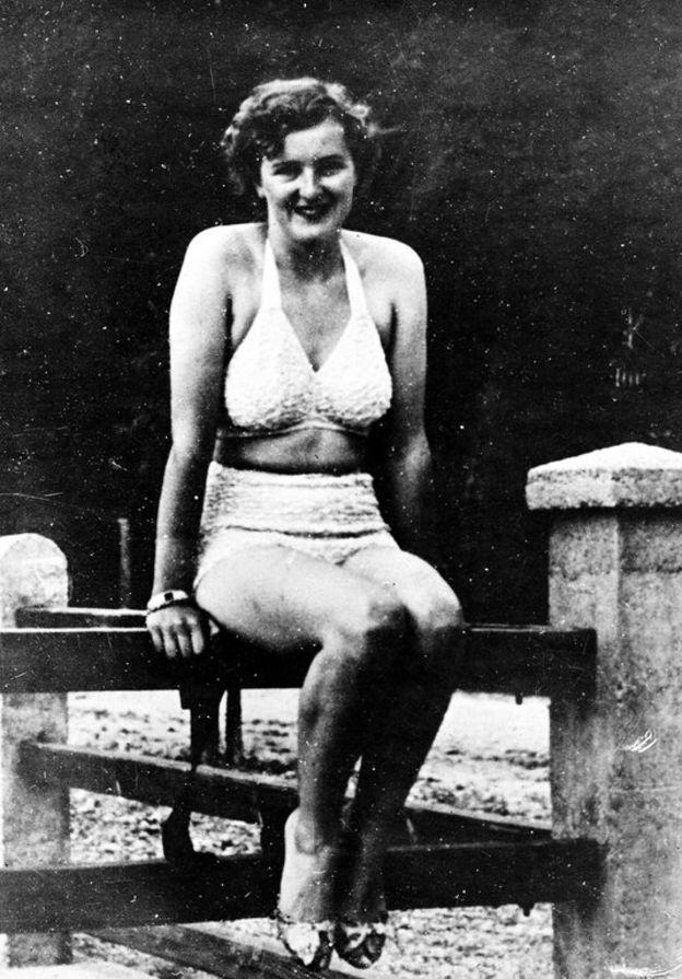 Braun conoció a Hitler en 1929 en Munich cuando ella tenía 17 años y él 40. AP