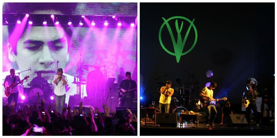 Bohemia Suburbana y Viernes Verde compartirán escenario en concierto local. (Foto Prensa Libre: Keneth Cruz)