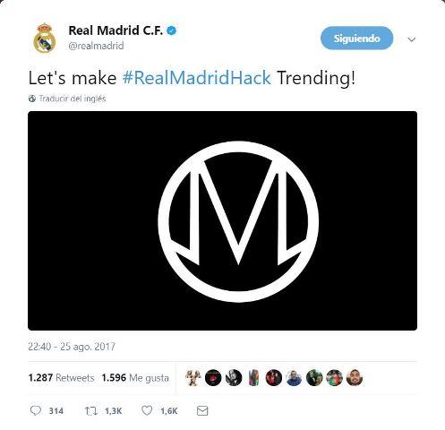 Los hackers siguen y ahora su víctima fue el Real Madrid
