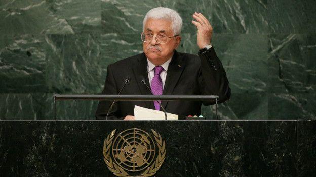 Mahmud Abbas anunció en 2015 que los palestinos se desvinculaban de los Acuerdos de Oslo.  EPA