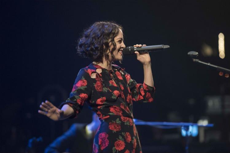 La cantante mexicana Natalia Lafourcade promociona el álbum Musas Vol. 2. (Foto Prensa Libre: Sony Music)