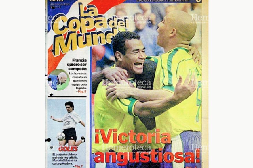 Suplemento especial que Prensa Libre dedicó al Mundial de Francia en 1998. (Foto: Hemeroteca PL)