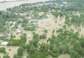 Catástrofe que dejó varios daños en el país