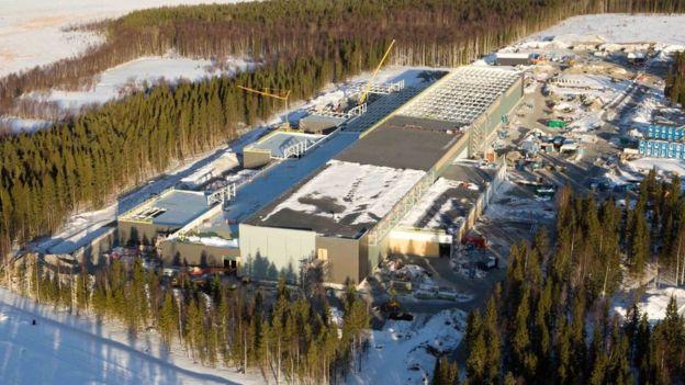 Facebook tiene un centro de datos en Lulea (Suecia), justo al sur del círculo polar ártico. FACEBOOK