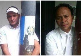 Hermes Rolando Galeano Juárez, 28, hondureño, y Édgar Humberto Peralta Hernandez, de 43 años. (Foto: PNC)