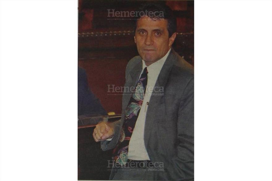 Byron Barrientos sirvió en la Base Militar de Cobán y también fue ministro de Gobernación en el 2000. (Foto: Hemeroteca PL)