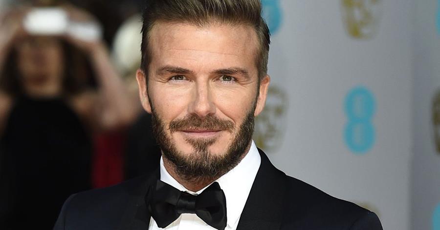 5. David Beckham, con un 88.96% de coincidencia.