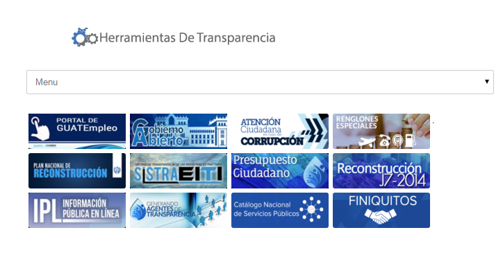 Las páginas web tienen herramientas de acceso a datos públicos para la fiscalización ciudadana. (Foto Prensa Libre: Internet)