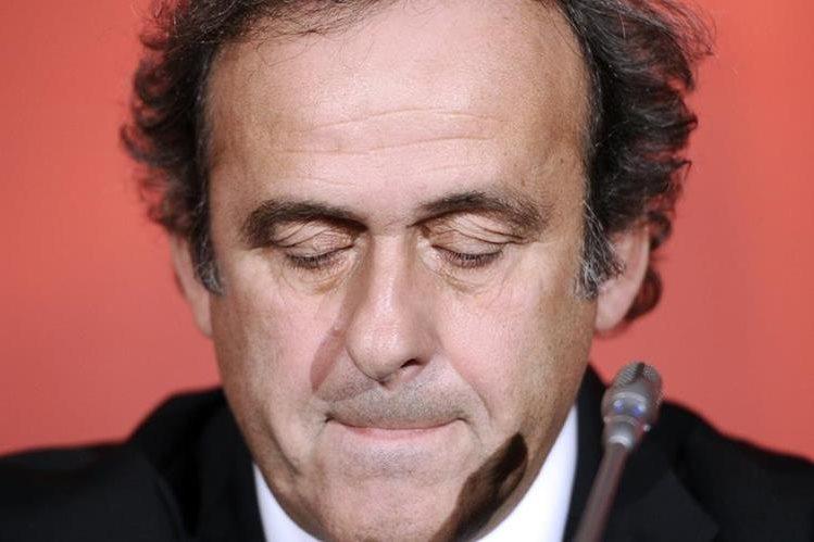 El francés Michel Platini seguirá suspendido de sus funciones como presidente de la UEFA por decisión del TAS. (Foto Prensa Libre: Hemeroteca)
